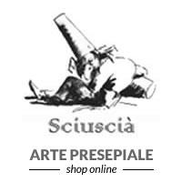 Sciuscià Presepi e Pastori Logo
